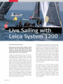 Leica Reporter 58 Live Sailing with Leica System 1200