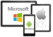 windows ios android