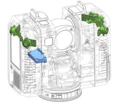RTC360 VIS komponente